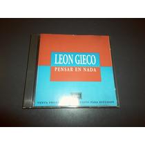 Leon Gieco - Pensar En Nada * Cd Single