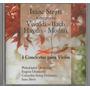 Cd Vivaldi -bach-haydn -mozart Isaac Stern Muy Buen Estado