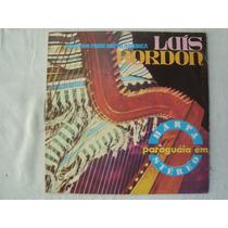 Luis Bordon Harpa Paraguaia En Stereo Lp Brasil Envio Gratis