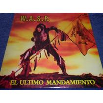 Wasp El Último Mandamiento Vinilo Lp Nacional 1985 Excelnte