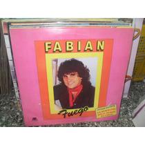 Fabian Fuego Lp Vinilo Cumbia 1988