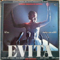 Evita - Lloyd Weber-rice - Paloma San Basilio Patxi Andion