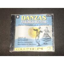 Cd Danzas Folkloricas Argentinas Vol 2 Año 1997 Rasguido Dob