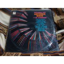 Long Play Disco Vinilo Antonio Bisio Y Su Acordeon