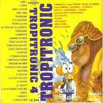 Tropitronic 4 Cassette 1995 Nuevo Cumbia