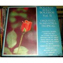 Orquesta Romantica Tropical Boleros Vol 2 Vinilo Argentino