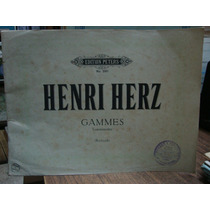 Henry Herz Gammes. Edition Peters