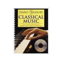 The Piano Treasury Of Classical Music, Partituras Piano+cd