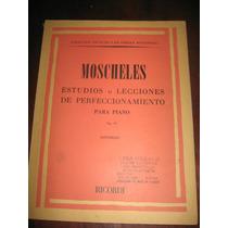 Libro Moscheles Para Piano