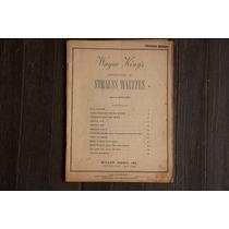 Partitura Piano Strauss Waltzes Hugo Frey Miller Music Ny