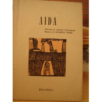 Giuseppe Verdi / Aida Libretto (en Italiano)