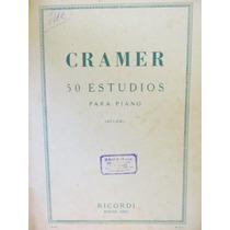 Cramer 50 Estudios Para Piano Ed. Ricordi