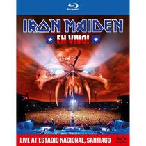 Iron Maiden - En Vivo! - Blu Ray Importado