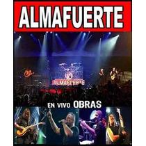 Almafuerte Vivo En Obras Cd + Dvd Nuevo Hermetica V8 Iorio