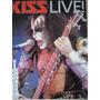 Kizz Live. Revista Con Muchas Fotos De Kiss