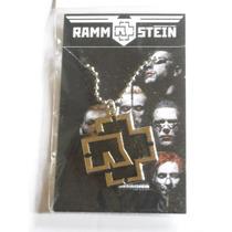 Musica Rammstein Dije Colgante Collar