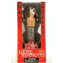 Gene Simmons Kiss Mc Farlane Statue Bust Nuevo!