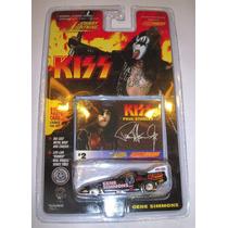 Auto De Kiss Gene Simmons Tarjeta Numero 2 Nuevo En Blister