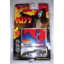 Auto De Kiss Gene Simmons Tarjeta Numero 28 Nuevo En Blister