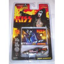 Auto De Kiss Gene Simmons Tarjeta Numero 32 Nuevo En Blister