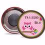 Souvenir Pin Iman Baby Shower Personalizados A Tu Gusto X10u