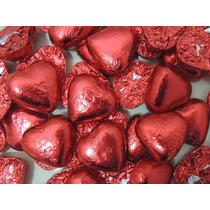 50 Corazones Chocolate Souvenirs Casamiento 15 Dia Enamorado