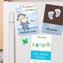 10 Souvenirs Imantados De Nacimiento Bautismo Baby Shower