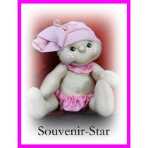 Souvenir 10 Nacimiento Bebe Beba Bautismo 1er Año Nena Nene