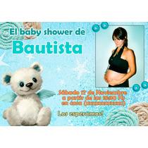 Souvenirs De Baby Shower Originales Con Iman 10x7cm (24 U)