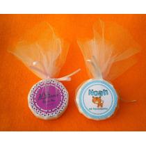 50 Souvenirs Jabones Personalizados Con Tul Baby Shower Y ++