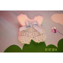 Souvenir Enterito Tejido Al Crochet Nacimientos Baby-sho