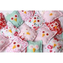 Souvenirs Infantiles Buhos De Tela - Nacimientos, Cumpleaños