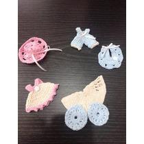 Souvenirs Al Crochet Nacimientos Bautismo 1 Año Baby Shower