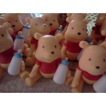 Souvenirs Ositos Pooh Bebe Con Mamadera