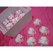 25 Mini Escarpines Souvenirs Nacimiento-baby Shower+exibidor