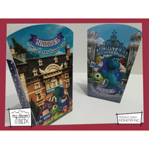 Souvenir Evento Caja Personalizada Monster Inc University