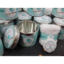 Souvenirs Latas Personalizadas Con Toalla Y Jabon Nacimiento