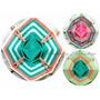X10 Unidades Souvenirs Mandalas Tejidos Atrapasueños 10cm