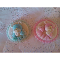 Souvenir Nacimiento, Baby Shower Con Imán, Bolsita