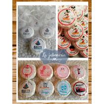 Jabones Personalizados Souvenir Nacimientos Cumple Pack X 10