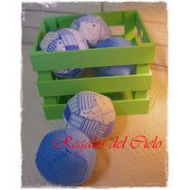 Souvenirs Nacimiento Varon Cumpleaños Baby Pelotitas Futbol