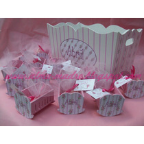 10 Cunita Souvenirs Nacimiento Con Jabon Piecitos O Chocolat