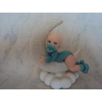 Souvenirs Para Nacimiento En Porcelana Fria