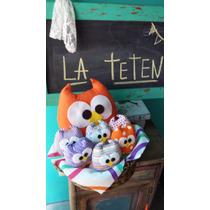 Caja Ajuar Box Pajarito Buho Colgante Nacimiento Baby Shower