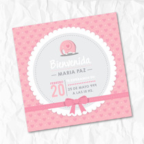 Tarjeta Invitacion Baby Shower - Papel Fotografico