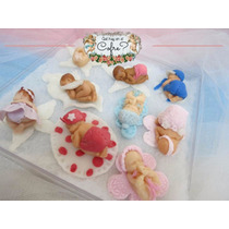 Souvenirs Bebes De Porcelana Para Bautismos Baby Shower, Etc