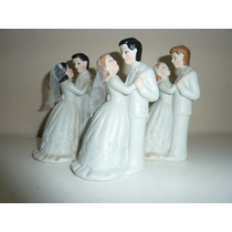 Novios Porcelana Ideal Tortas De Casamiento