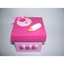Souvenirs Nacimiento Baby Shower Cajitas!!! X 10 Unidades
