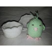 Amigurumis Pollito Tejido A Crochet