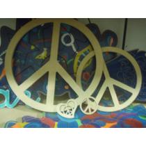 Simbolo De Paz_en Madera Pino O Mdf